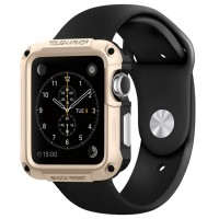 Tough Armor Case for Apple Watch 42MM - Champagne Gold