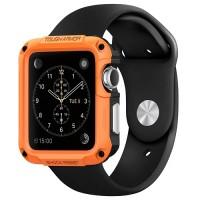 Tough Armor Case for Apple Watch 42MM - Tangerine Tango