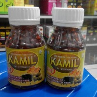 Kamil 3 in 1 3in1 (Jinten Hitam + Zaitun + Propolis) 210 kapsul