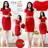 Dress Natali Merah