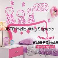 Harga wallsticker jbtr hellokitty sepeda wall sticker sticker | WIKIPRICE INDONESIA