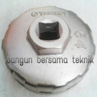 Kunci oli filter model mangkok merek tekiro ukuran 64mm