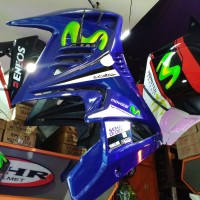harga Half Fairing New Vixion Transformer Striping Movistar Tokopedia.com