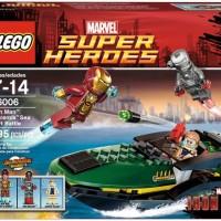 LEGO 76006 Iron Man: Extremis Sea Port Battle