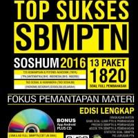 harga Top Sukses Sbmptn Soshum 2016 Tokopedia.com