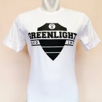Kaos Oblong/tshirt/t shirt kerah Distro Greenlight