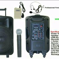 harga Speaker Portable Wireless Pa Amplifier Ashley Ps-12m Toa Meeting Tokopedia.com