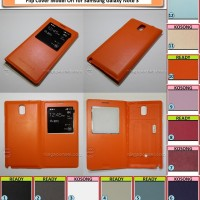 harga Flip Cover View For Samsung Galaxy Note 3 + Ic Tokopedia.com