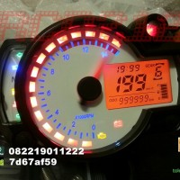 SPEEDOMETER DIGITAL UNIVERSAL MODEL KOSO RX2N
