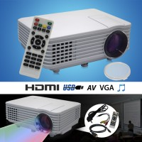 Projector RD805 LED Mini Projector Portable with TV Tuner