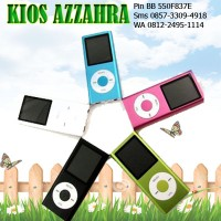 MP4 Ipod Slot Micro SD Bisa Mp3 dan Nonton Video