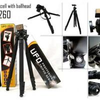 harga Tripod Kamera Dslr / Tripod Kamera Digital Excell Ufo 260 Pro Ballhead Tokopedia.com