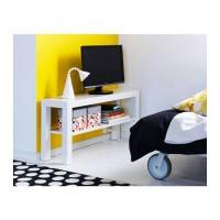 BEST SELLER IKEA LACK Meja TV, Putih, Hitam, 90x26 Cm