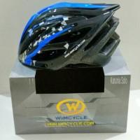 harga Helm Sepeda Wimcycle Blue Tokopedia.com