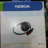 nokia bluetooth wireless stereo headset megabass original bh-503