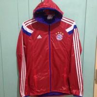 harga Adidas Jaket Bayern Munchen Anthem Size M. Jaket Running/Bola/olahraga Tokopedia.com