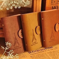 harga Dompet Kartu Leather Vintage Paris Card Holder Kulit Tokopedia.com