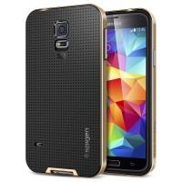 Spigen Galaxy S5 Case Neo Hybrid - Copper Gold