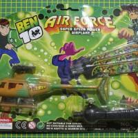 helikopter besar tarik ben10 ben 10 benten pull helicopter mainan toys