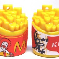 rautan kfc macdonald mcd mcdonald sharpener peruncing pensil kentang
