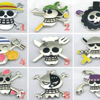 harga Car Sticker 3d Emblem One Piece Jolly Roger Tokopedia.com