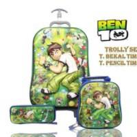harga TAS ANAK TROLI 3IN1 BEN TEN 5D Tokopedia.com