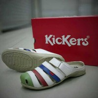 harga Sandal Sepatu Kickers Wanita Cantik 02111 Tokopedia.com