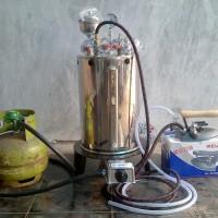 Setrika Uap Boiler 10 Liter untuk Konveksi / Laundry