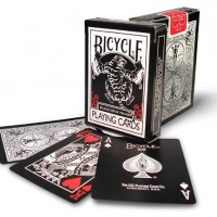 Bicycle - Tiger Deck (White or Red Pips)