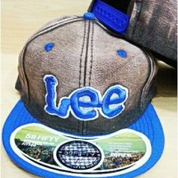 harga Topi Snapback Denim Lee Tokopedia.com