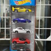 Hot Wheels Ferrari Race 5 Pack