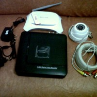 PAKET CCTV 4 CHANNEL ONLINE MODEM USB ( Bukan system video call / 3G )