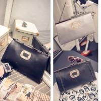 harga Tas Pesta Clutch Korea Elegan Import Tokopedia.com