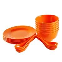 Mangkok Soup Set Orange -MELAMINE GLORI