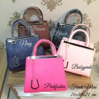 Tas Fendi 2jour mini tutup zipper