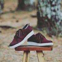 sepatu handmade indonesian pride prodigo kutai marun