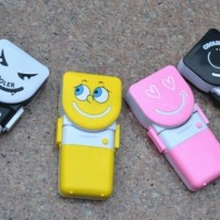 Kipas Angin Tangan Mini Fan Genggam Portable Handy Cooler Smile AC Air