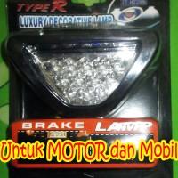 harga Lampu Stop Model F1 / Lampu Rem / Lampu Stop Segitiga Tokopedia.com