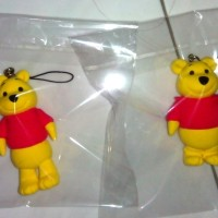 Winnie the pooh Miniatur clay figure - Homemade clay. Made by order.