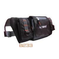 tas pinggang sepeda hitam nordend b233 (waist bag,tas sepeda)