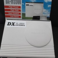 VHF / UHF Antenna Booster DX-W 9900 Buatan PF / Gambar Bebas Semut