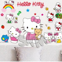 Jual WALLSTICKER TR75 HELLO KITTY CHEFF STICKER DINDING HK WALLPAPER Murah
