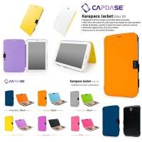 harga Capdase Leather Flip Book Cover Casing Case Samsung Galaxy Tab 3 8.0 Tokopedia.com