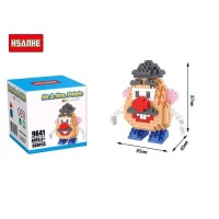 Lego Hsanhe Nano Block Mr Potato Head Toy Story