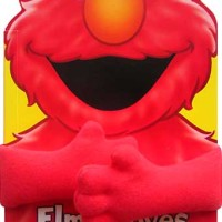 harga Sesame Street Elmo Loves Hugs! Board Book with Plush Huggable Arms Tokopedia.com
