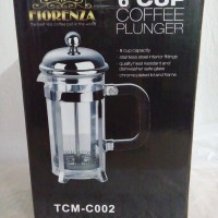 harga French Press/coffee&tea Plunger 6 Cup Florenza (packing Kayu)more Save Tokopedia.com