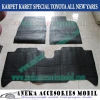Karpet Karet/Karpet Lantai Mobil Toyota All New Yaris