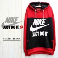Hoodie Nike Combine Red Black