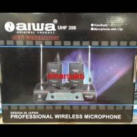 harga Mic Wireless Aiwa Uhf 358 ( Clip On + Clip On ) Tokopedia.com