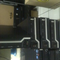 5 unit pc built up acer veriton x6610g core i3 sandybride ram 2gb